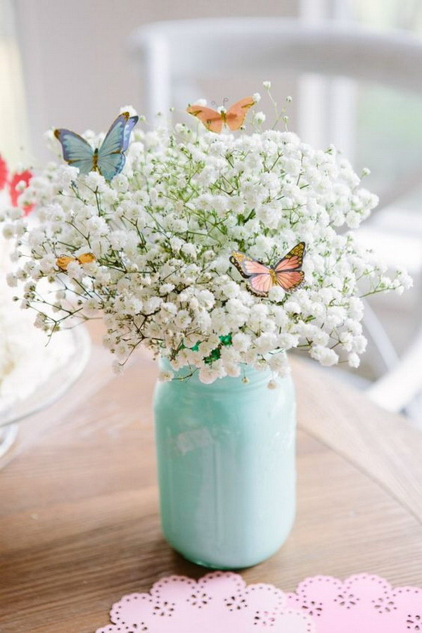 30 beautiful diys for your spring decoration 2017 beautiful butterfly bouquet junglespirit Image collections