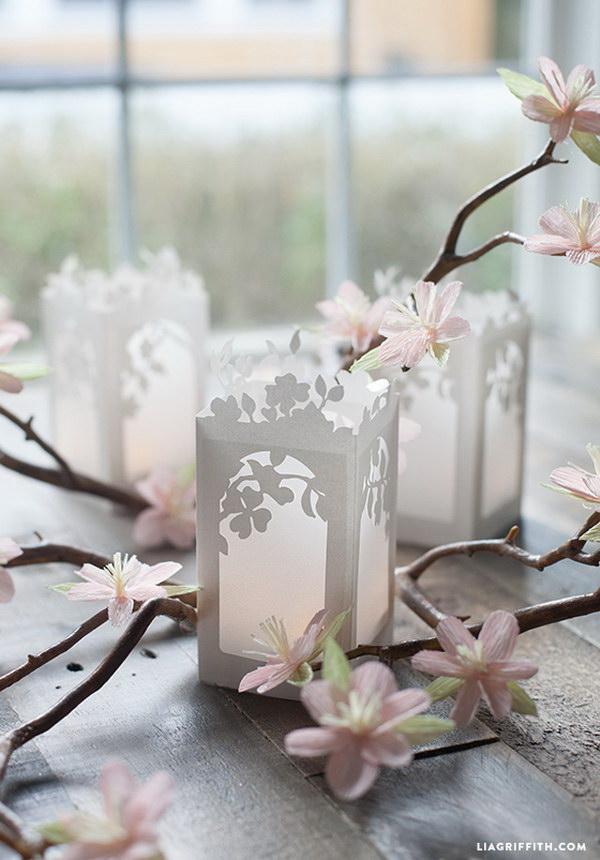 DIY Paper Lanterns.