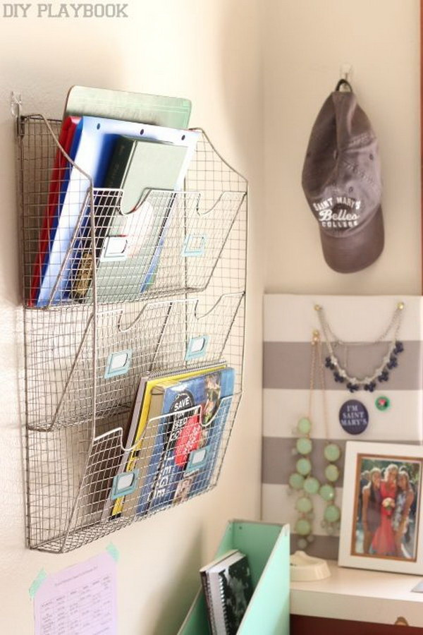 Hanging Folder Wall Organizers Part 56
