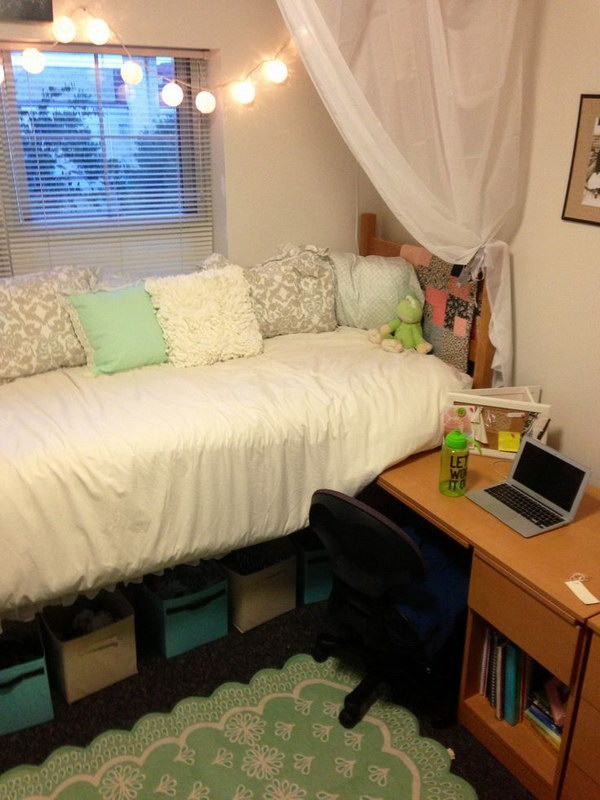 Ideas For Dorm Room: 25+ Budget-friendly Dorm Room Decoration Ideas 2017