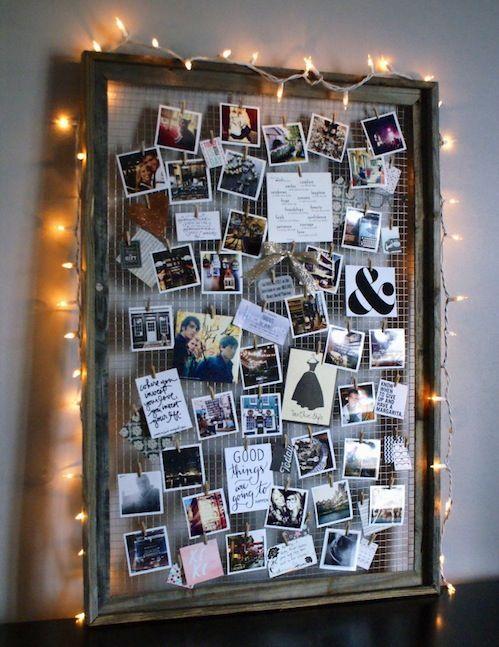 Dorm Photo Idea.