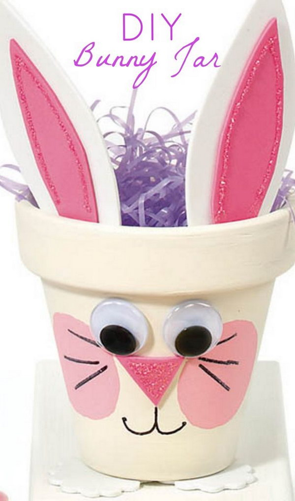Easy And Cute Bunny Pot Tutorial