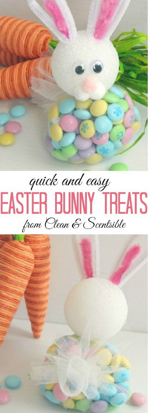 Easy But Cute Easter Bunny Treats