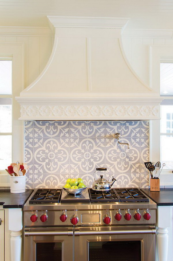 Italian backsplash tiles