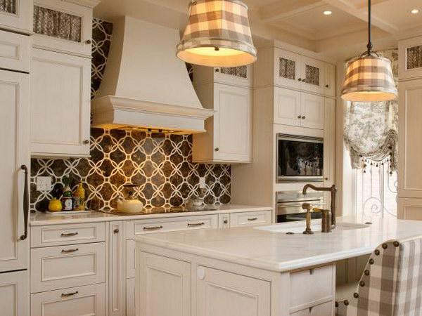 Elegant Grey Ceramic  Modern Contemporary Kitchen Backsplash