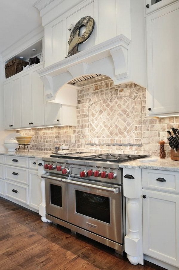 white kitchen backsplashes 30 awesome kitchen backsplash ideas for your home 2017 15437