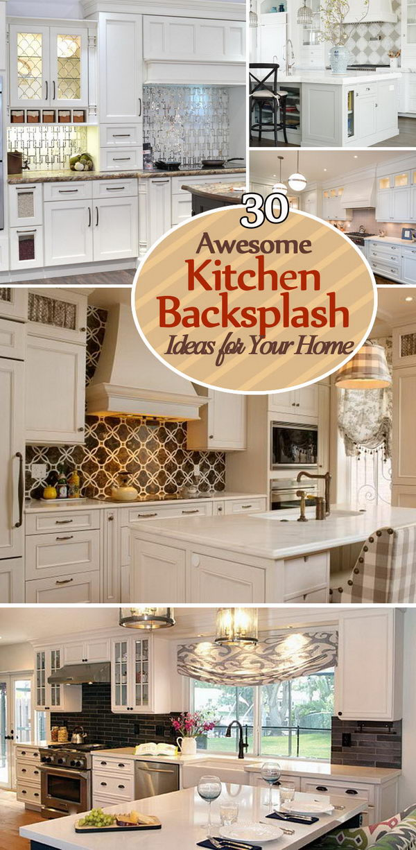 Awesome Kitchen Backsplash Ideas for Your Home.