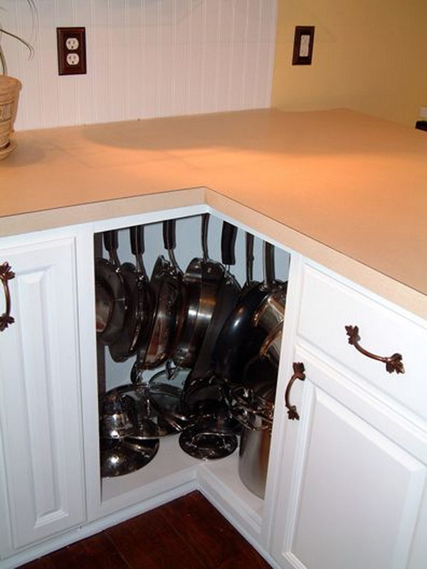 10 Kitchen Cabinet Tips: Kitchen Corner Cabinet Storage Ideas 2017