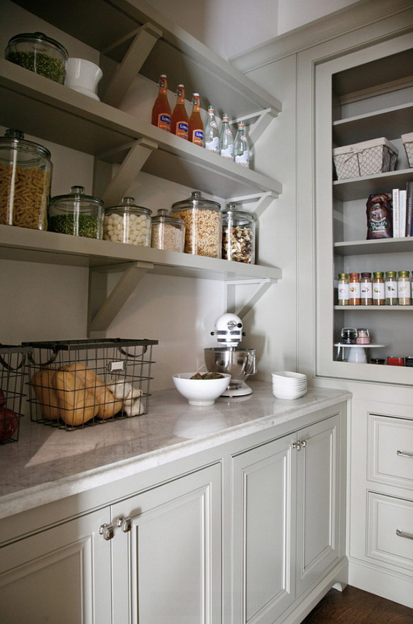 Create an Open Pantry.