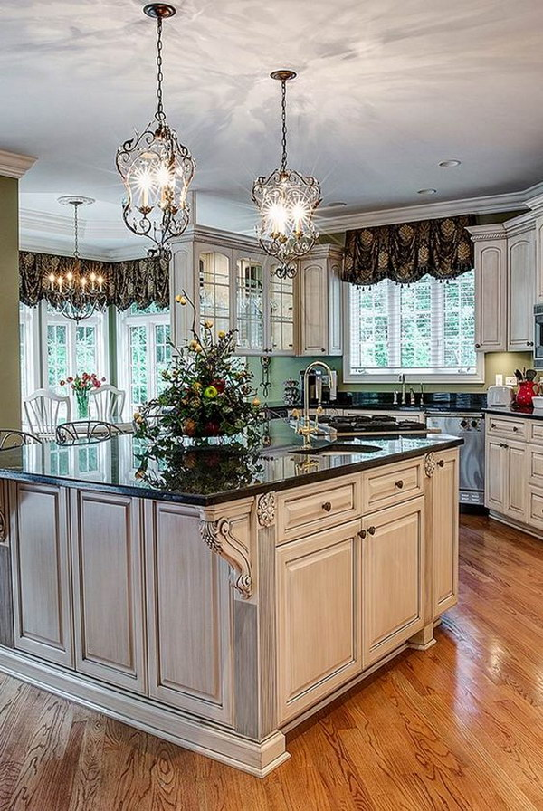 French Country Chandeliers For Kitchens