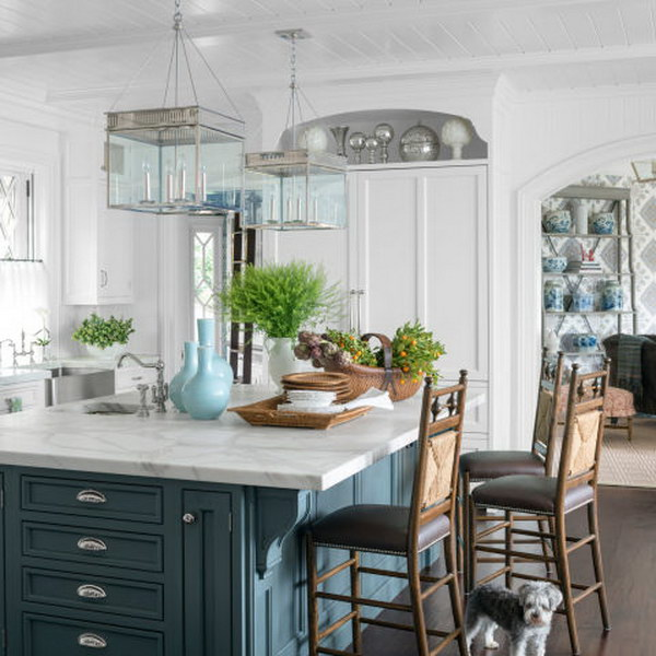 30 Brilliant Kitchen Island Ideas That Make A Statement: 30+ Awesome Kitchen Lighting Ideas 2017