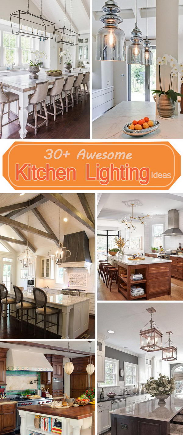 Awesome Kitchen Lighting Ideas.