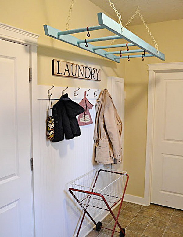Laundry Room Rack
