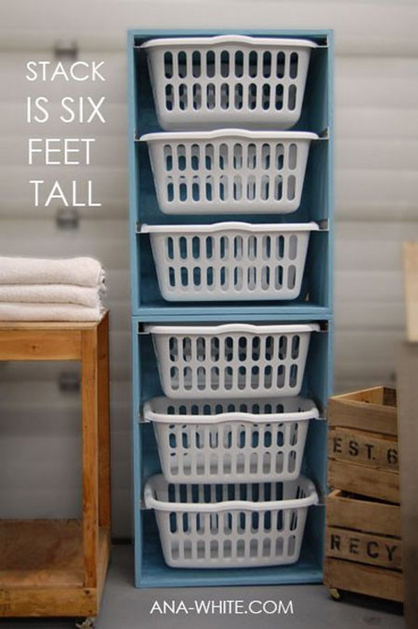 50 Laundry Storage And Organization Ideas