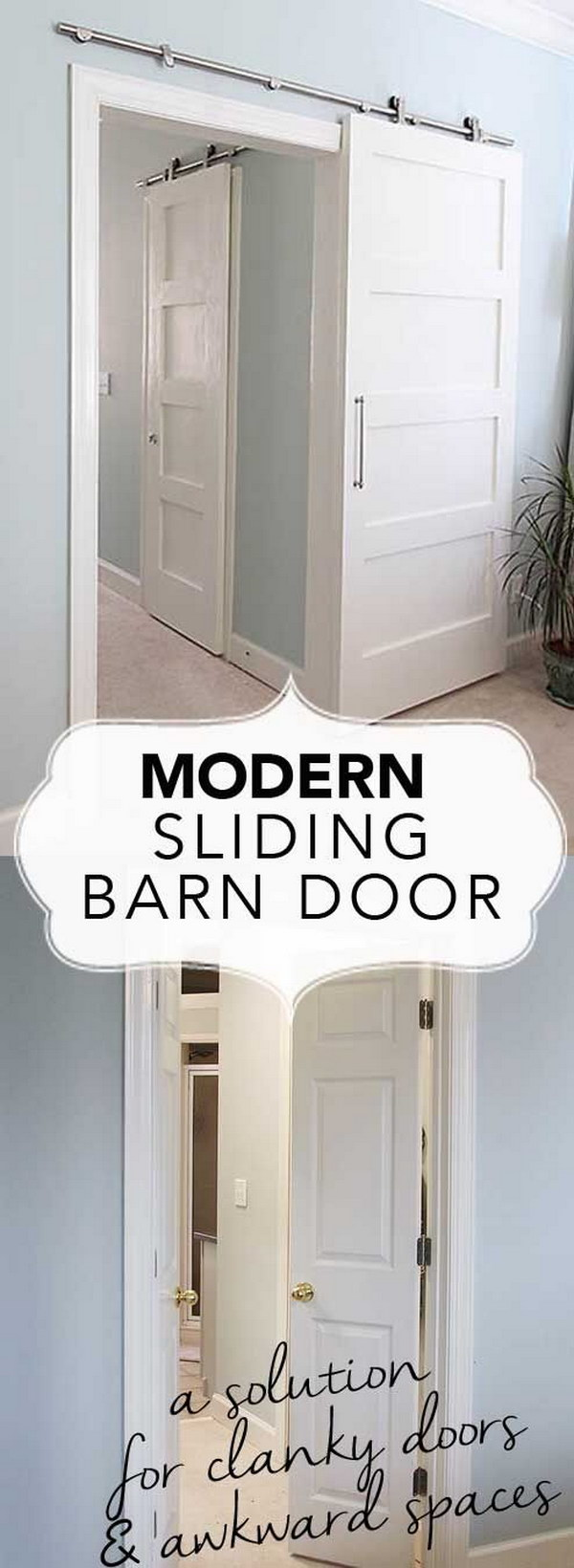 DIY Sliding Barn Door Tutorial