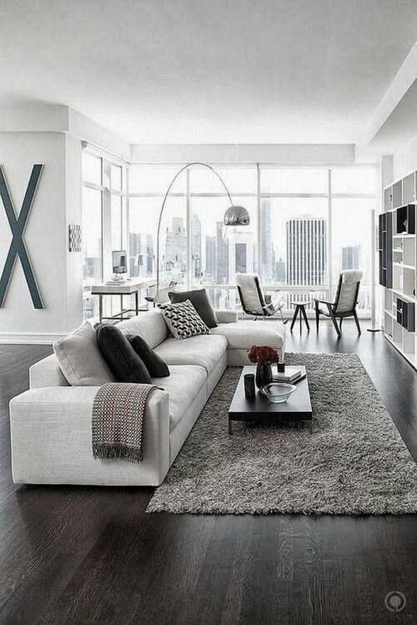 White Paint Living Room