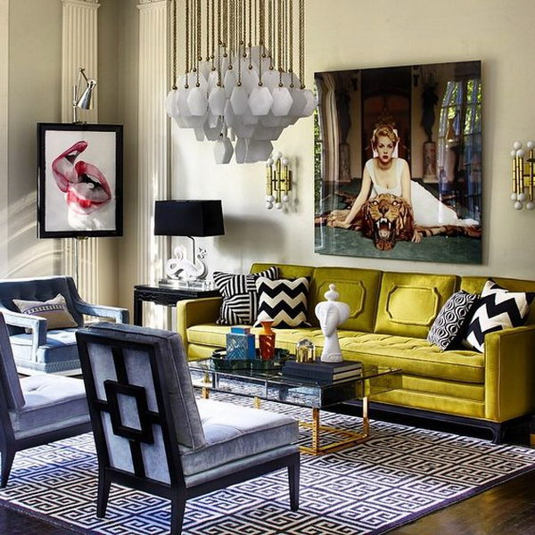 Amazing and Chic Living Room.
