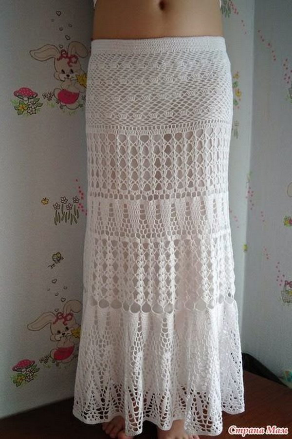 Free Crochet Patterns For Long Skirts : Summer Crochet Projects With Free Patterns And Tutorials 2017
