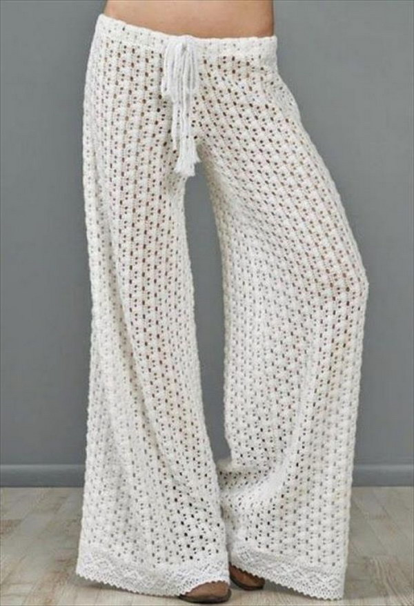 Free Crochet Summer Pant Pattern