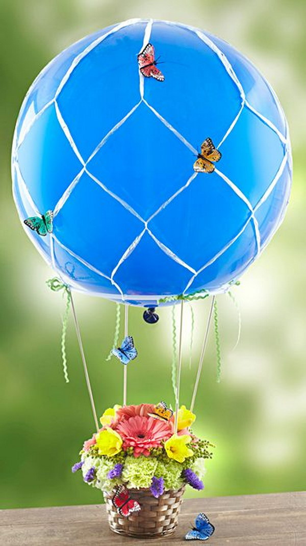 Butterfly Hot Air Balloon.