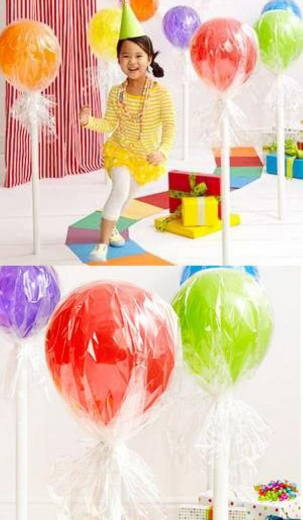 Balloon Lollipops Decoration.