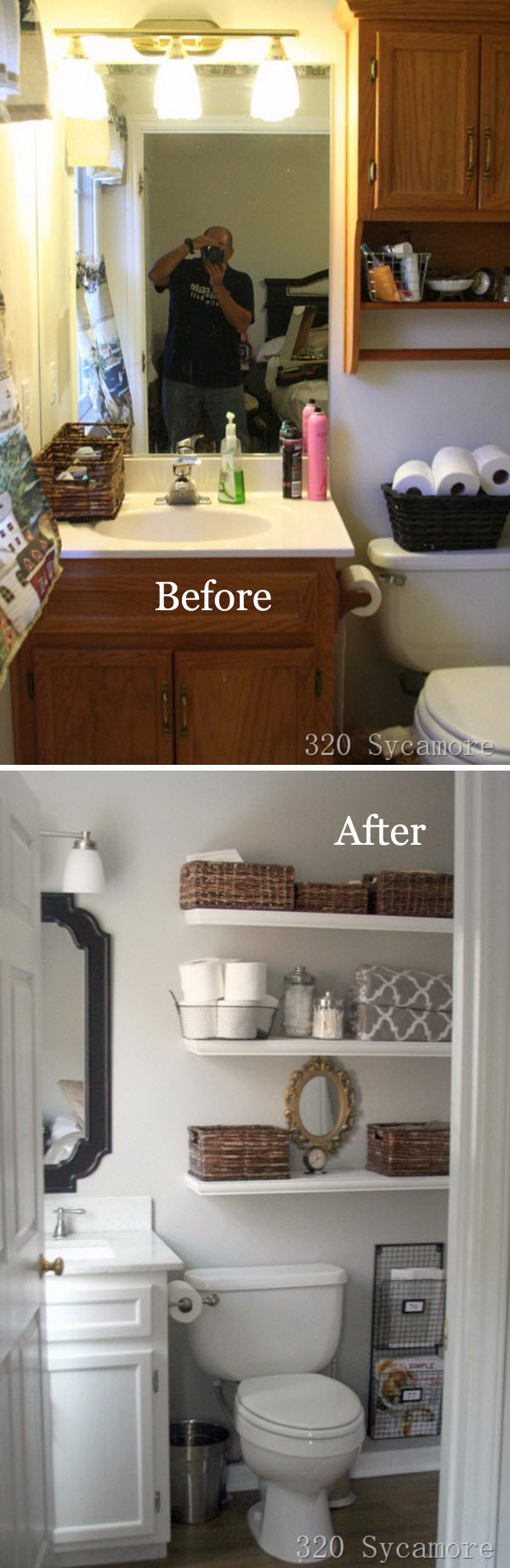 Gorgeous Master Bathroom Makeover.