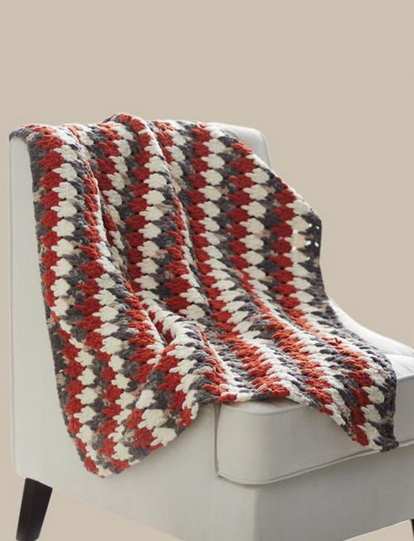 Larksfoot Crochet Blanket.