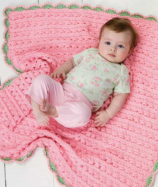 Cuddle and Coo Baby Blanket.
