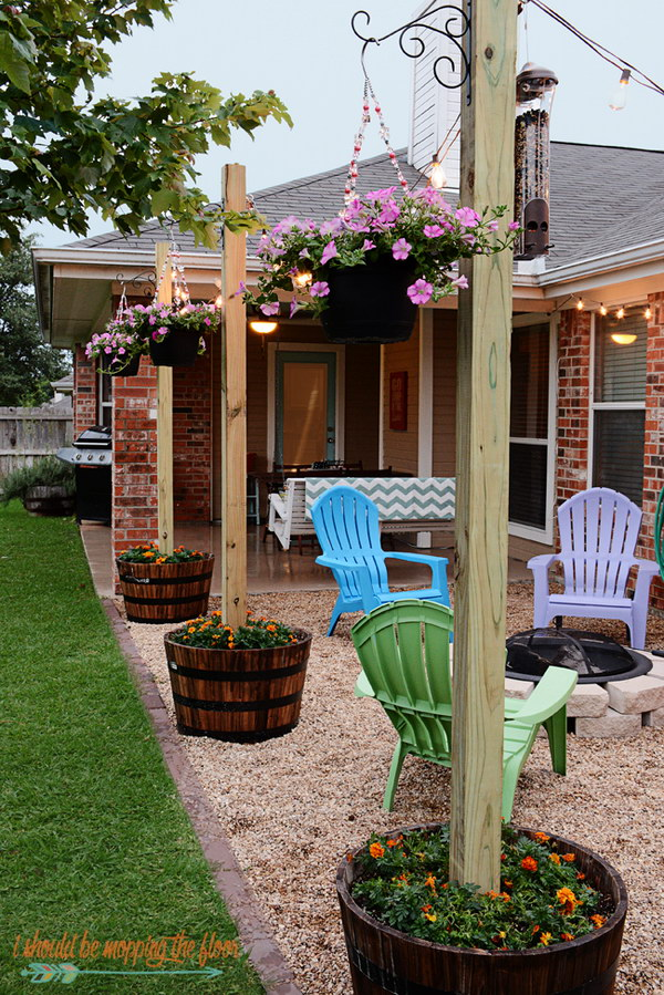 Easy DIY Backyard Projects Ideas - Backyard planter ideas