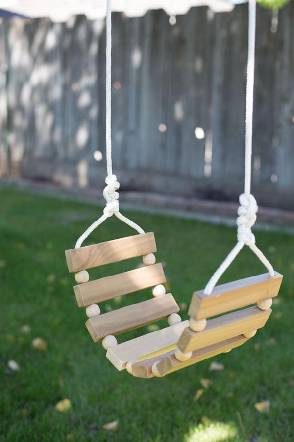 DIY Tree Swing.