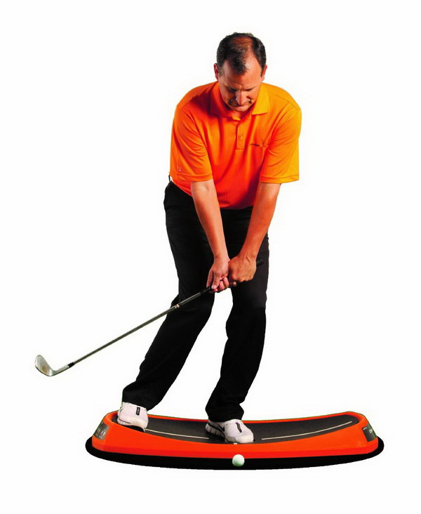 Use your hips in order to keep in balance.