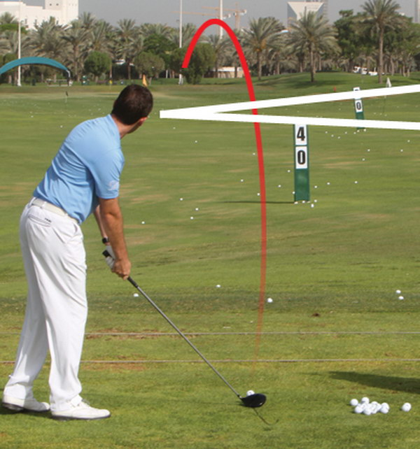 Visualize the shot you want to hit.