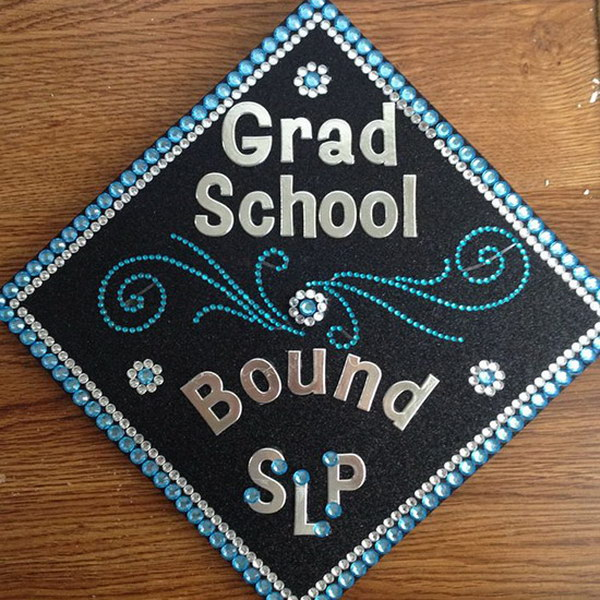 Grad School Graduation Cap.