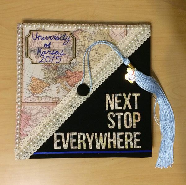 Subtly Nerdy Graduate Cap.