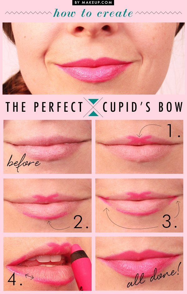 How to Create the Perfect Cupid's Bow.