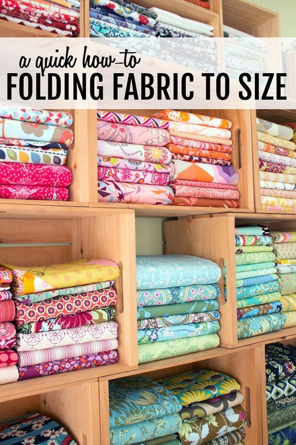 Creative Sewing Room Storage Ideas