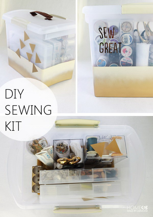 DIY Sewing Kit.