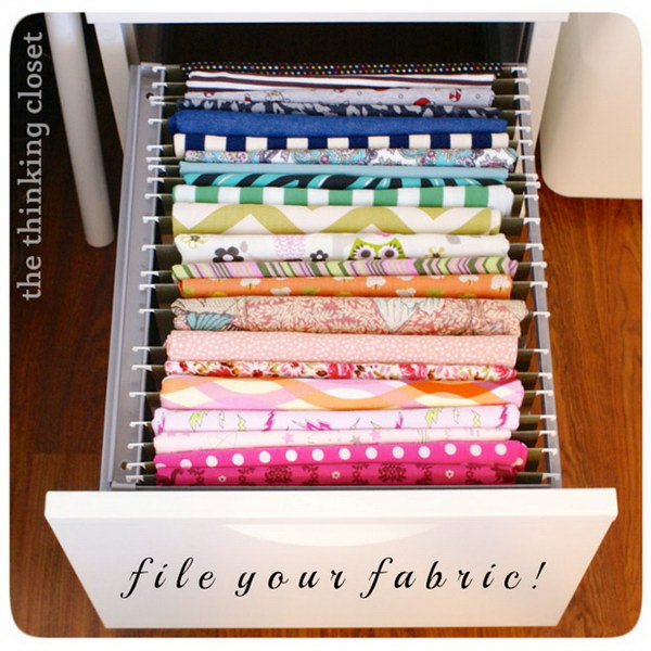 Filing Fabric Organizer.