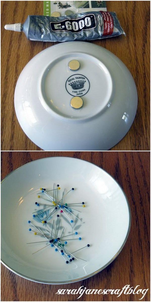 Magnetic Pin Dish.