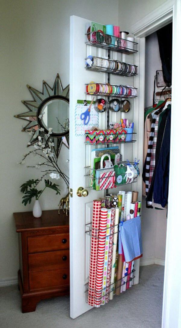 closet space organization ideas - Sewing Room Storage & Organization Ideas 2017