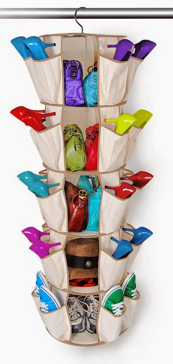 Shoe Carrousel.