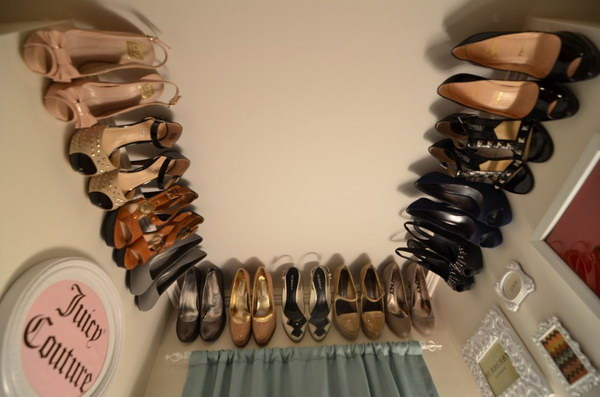 Crown Molding For Your Shoe Rack.