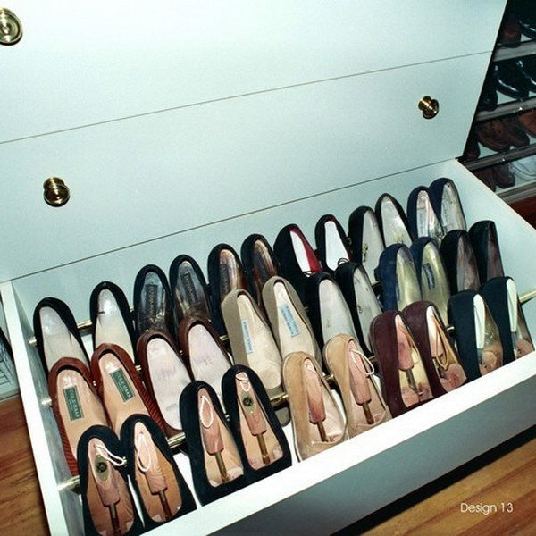 30 creative shoe storage ideas 2017 - Shoe storage ideas small space image ...