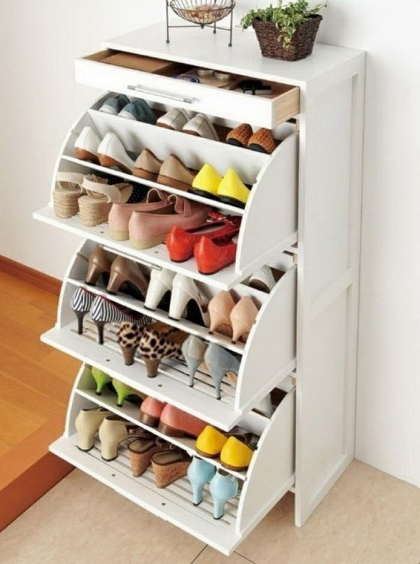 Diy Outdoor Shoe Storage