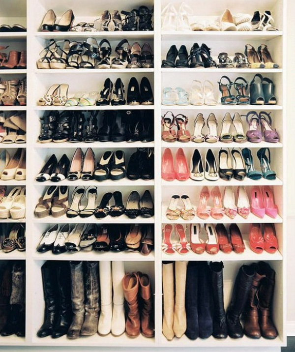 Tailor Shoe Storage.