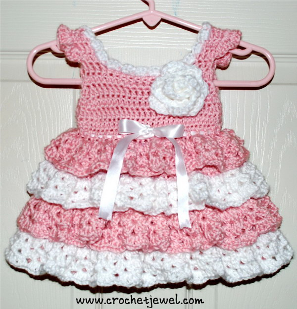 Crochet 0 3 Month Old Dress.