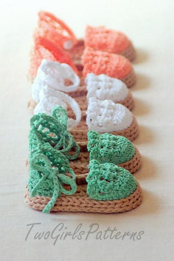 Baby Espadrille Sandals.