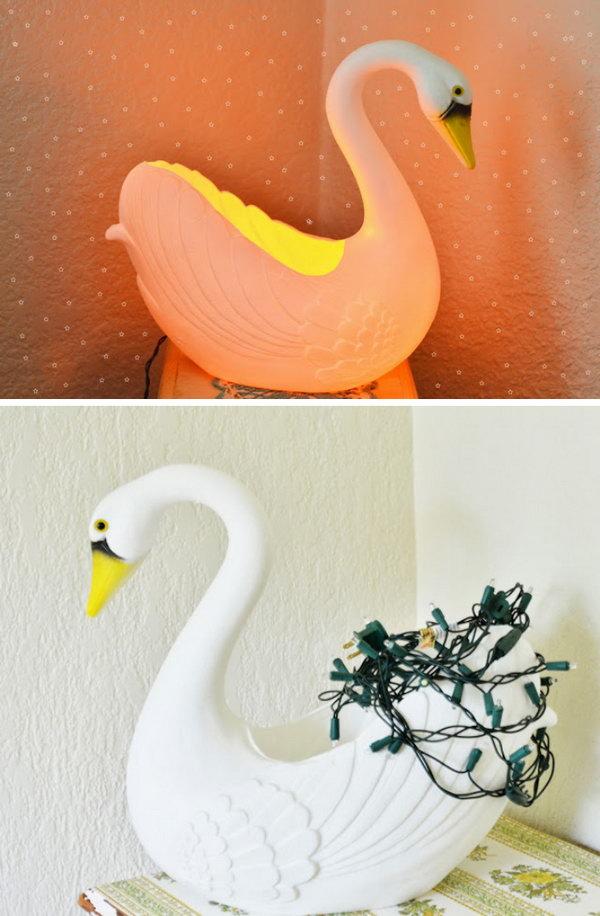 DIY Swan Nightlight For About $10