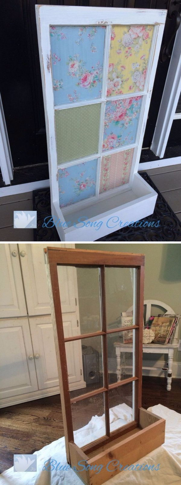 DIY Shabby Chic Window Box