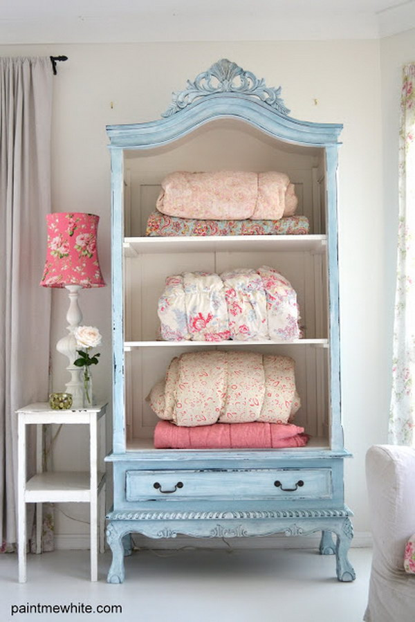 French Armoire Makeover.